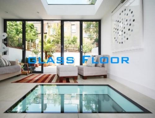 Glass floor prject